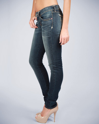 Levi's Slight Curve Skinny Jeans Blue