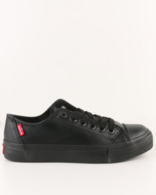 Levi's Trucker Low Top Sneaker  MM Black Mono