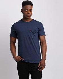 Levi's Short Sleeve Sunset Pocket T-Shirt Blue