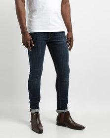 Levi's 519 Extreme Skinny Fit Jeans Commando Indigo