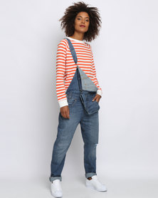 Levi's Heritage Overalls Gold Rush Blue