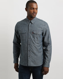 Levi's Jackson Shirt Dark Chambray