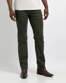 Levi's 511 Slim Fit Trousers Olive