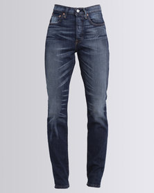 Levi's 501 Skinny Supercharger Jeans Indigo