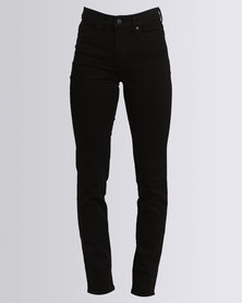 Levi's 312 Shaping Slim Jeans Black
