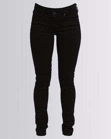 Levi's 711 Skinny Black Sheep Jeans Black