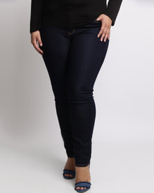 Levi's 311 Plus Size Shaping Skinny Jeans Darkest Sky