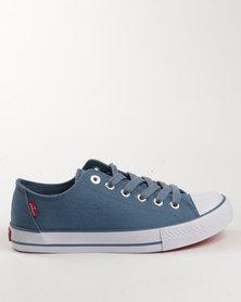 Levi's Trucker LO Canvas Shoe Light Blue