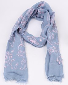 Lily & Rose Scarf Light Blue