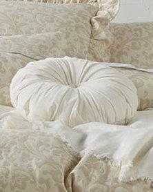 Linen House Damson Round Scatter Cushion