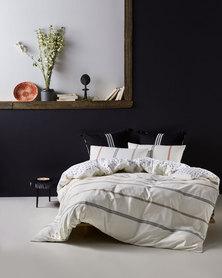 Linen House Utah Duvet Cover Set Neutral