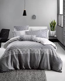 Linen House Margiela Duvet Cover Set Grey