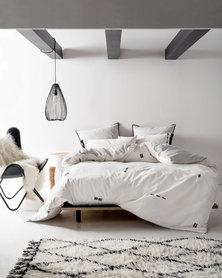 Linen House Isabel Duvet Cover Set White