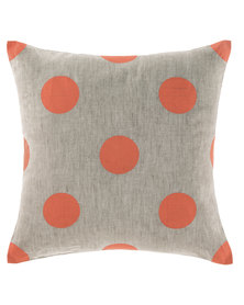 Linen House Kyneton Scatter Cushion Coral