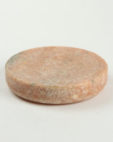 Linen House Marble Soap Dish Pink