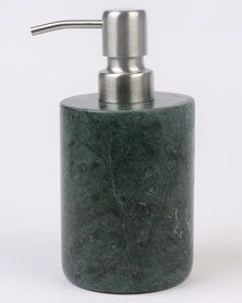 Linen House Marble Soap Dispenser Green