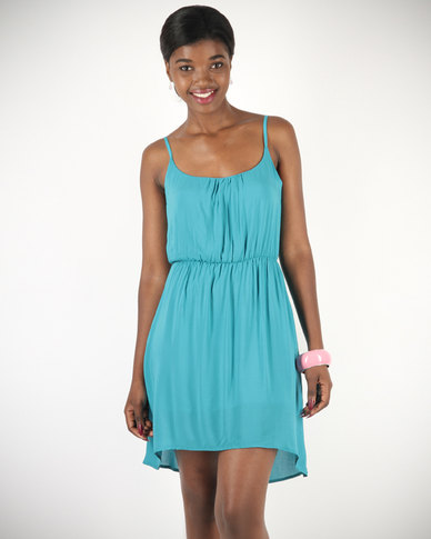 Linx Floaty Dress Blue