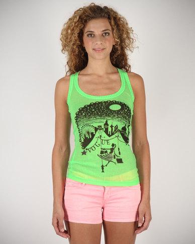Linx Ladies T-Shirt Green