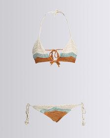 Lisp Crochet Bikini Dune Nude