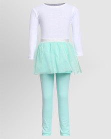 Little Lemon Tinx Tutu Set Mint