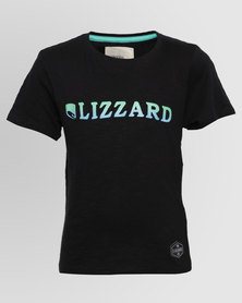 Lizzard Boys Cloyd Tee Black