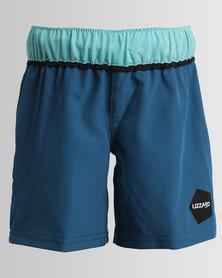 Lizzard Boys Cone-E Boardshorts Tots Blue