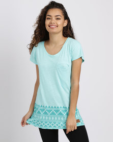 Lizzy Rea Tee Pool Blue