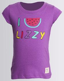 Lizzy Girls Emira Tee Purple