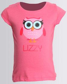 Lizzy Girls Kristin Tee Rose