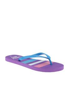 Lizzy Nautica Flip Flop Blue/Multi
