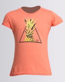 Lizzy Girls Chantal Tee Desert Flower Coral