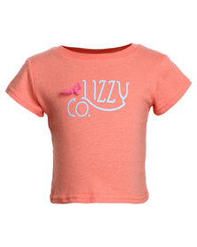 Lizzy Diamantina Tots Tee Orange
