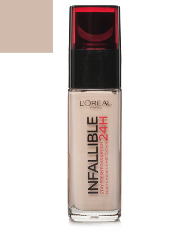Oreal Infallible Foundation Golden Sand 200