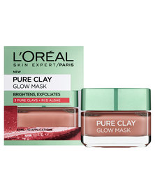 L'Oreal Pure Clay Glow Mask 50ml