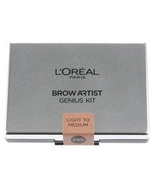 L'Oreal Brow Artiste Genius Kit Light Medium 01