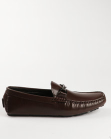 Luciano Rossi Casual Slip On Shoe Brown