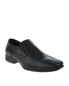 Luciano Rossi Formal Slip On Shoes Black