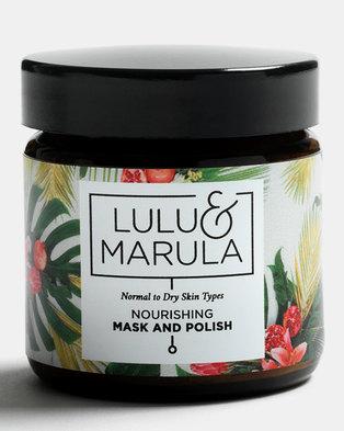 Lulu and Marula Nourishing Mask & Polish 100ml