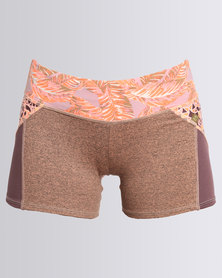 Maaji Amber Walk Shorts Orange
