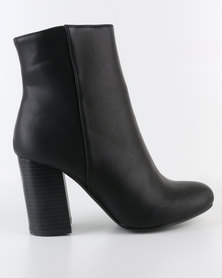 Madison Genna Ankle Boots Black