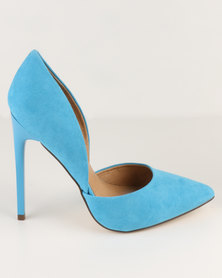 Madison Leah Pointed Pumps Oasis Blue