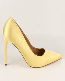 Madison Chantelle Pointed Pumps Yellow
