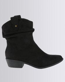 Madison Luann Ankle Boot Black