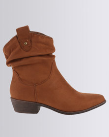 Madison Luann Ankle Boot Tan