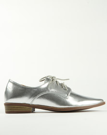 Madison Timmi Lace Up Silver