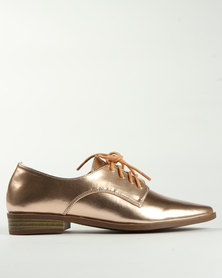 Madison Timmi Lace Up Gold