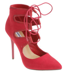 Madison Sonja Pointed High Heel Red