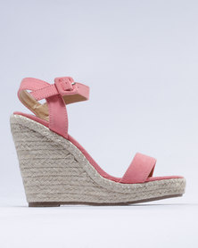 Madison Candice Wedge Pink