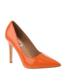 Madison Tribeca High Heel Patent Orange
