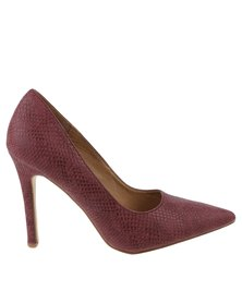 Madison Tribeca High Heel Burgundy